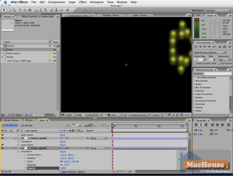 Adobe After Effects CS3 Basics #11 | MacHouse Blog – A World