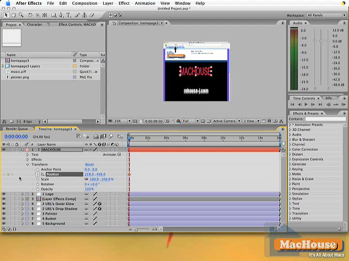 After Effects video tutorial