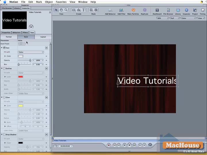 Apple motion tutorials creative cow for Apple motion download