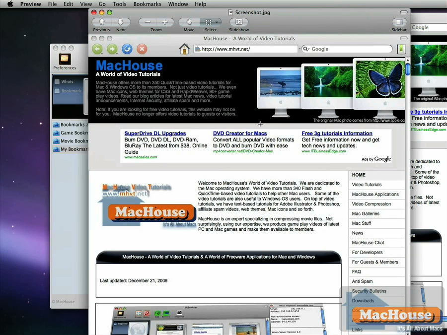 Mac software BookmarksX