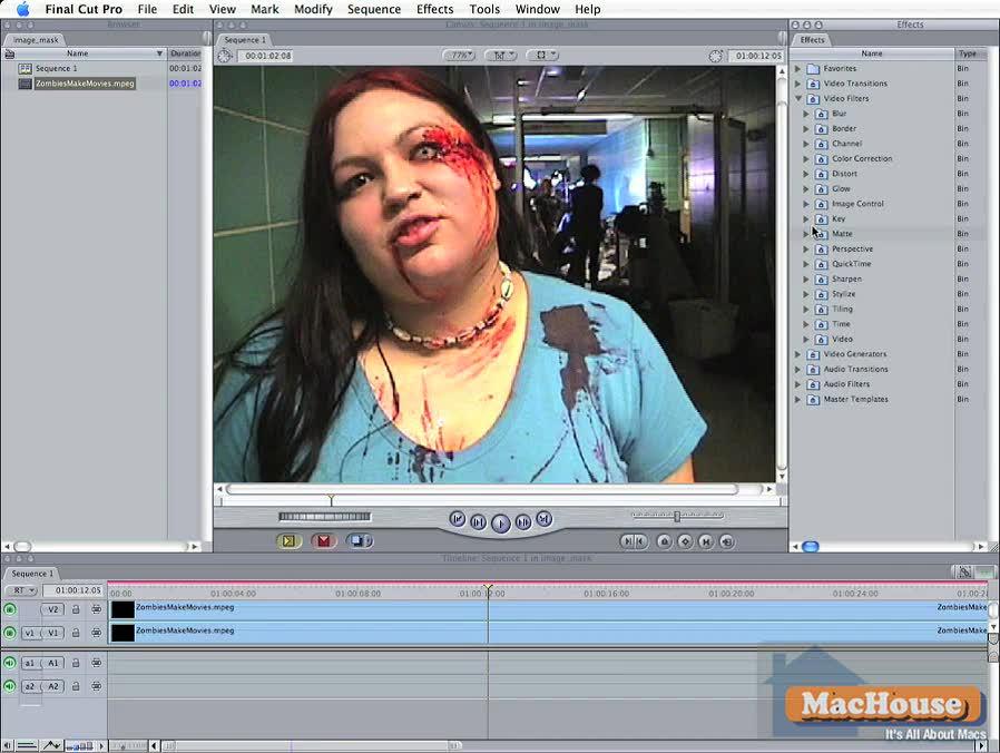 Final Cut Pro 6 Basics Video Tutorial 05 | MacHouse Blog – A