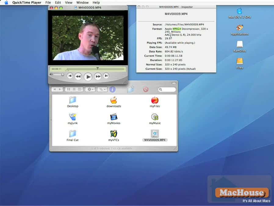 Final Cut Pro 6 video tutorial editing basics