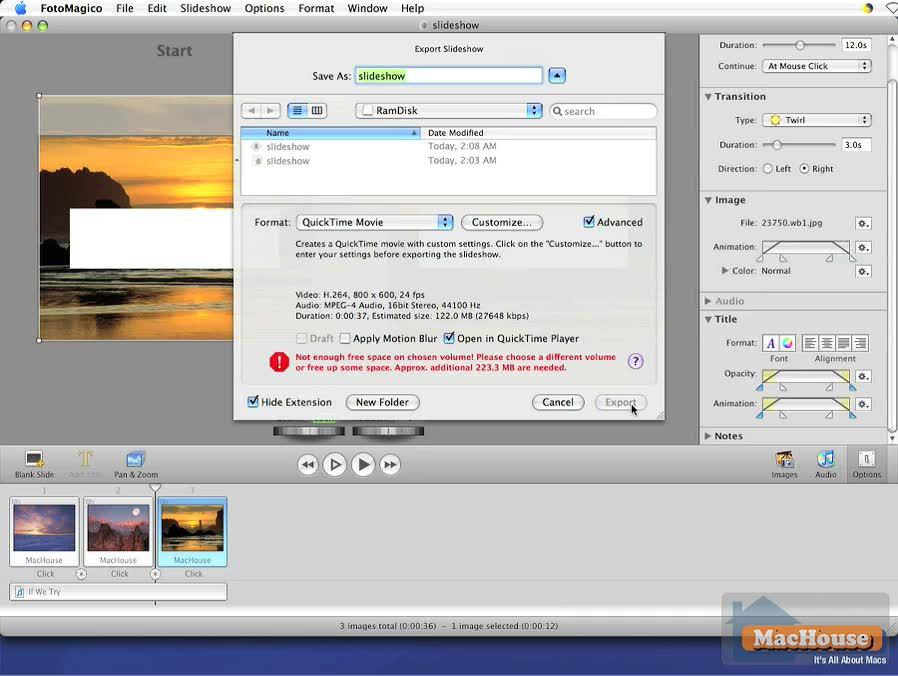 FotoMagico 2.1 tutorial