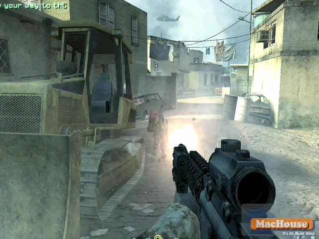 Call of Duty 4 game play video