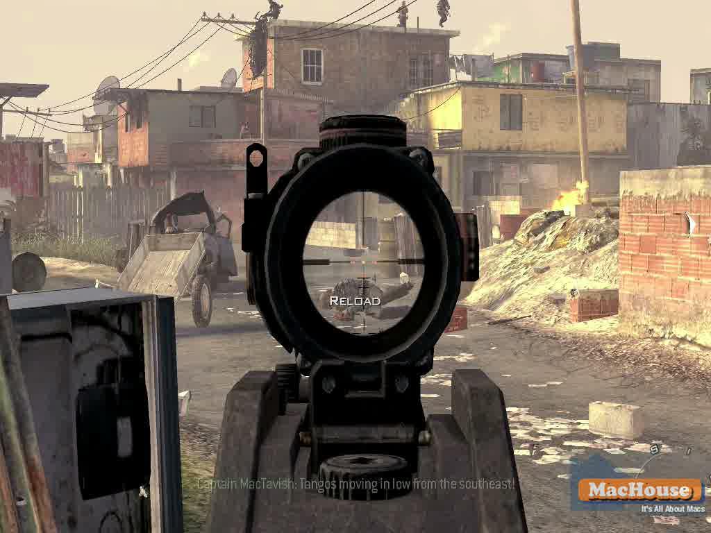 Call of Duty: Modern Warfare2 Mac Boot Camp