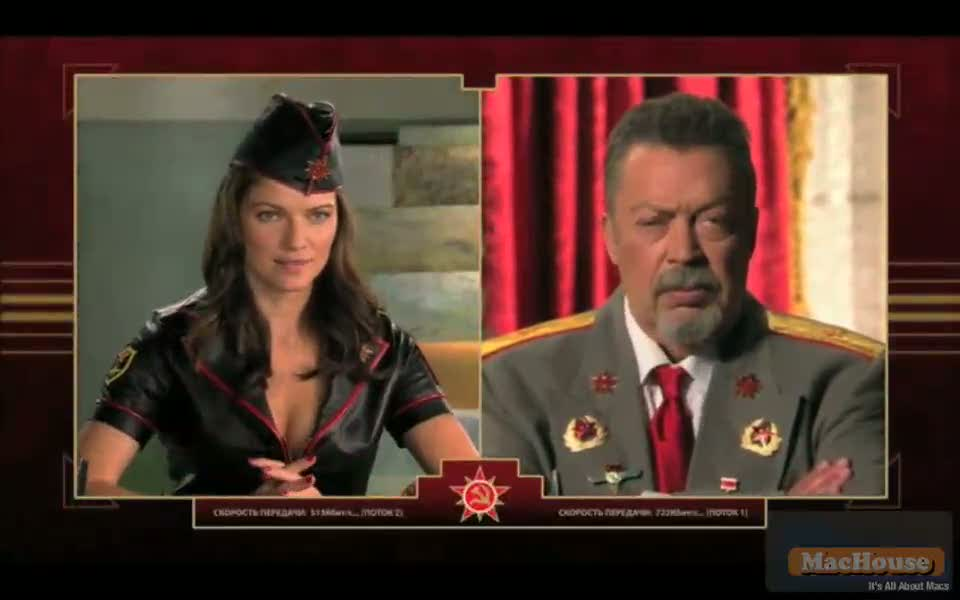 Playing Command & Conquer Red Alert 3 on Mac Boot Camp Mac