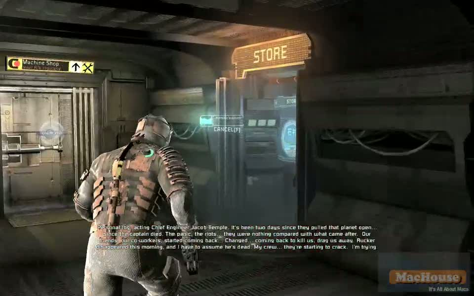 Playing Dead Space with Boot Camp – Dead Space Game Play