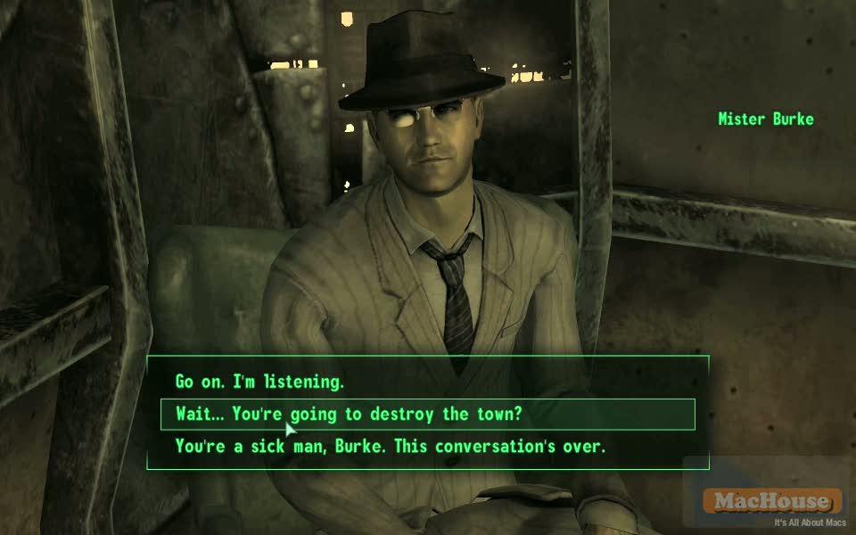 Playing Fallout 3 on Mac Boot Camp Mac