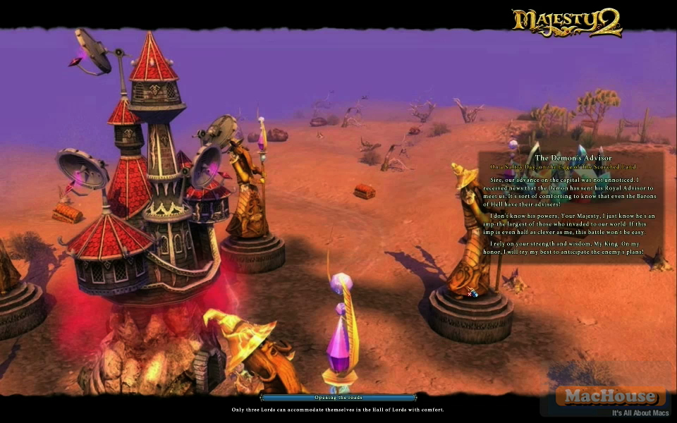 Majesty 2: The Fantasy Kingdom Sim Mac Boot Camp