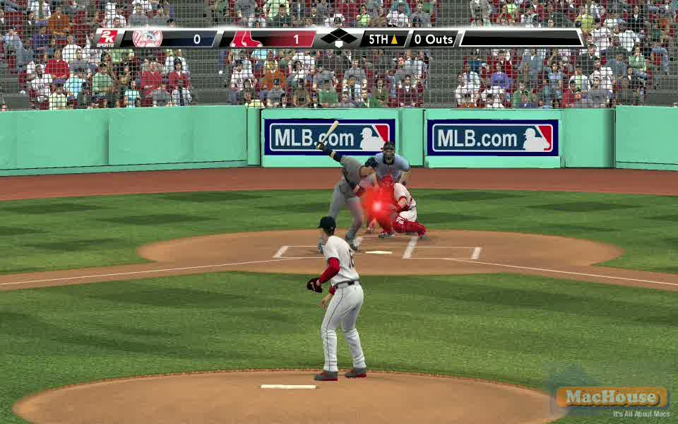 Major League Baseball 2K9 Mac Boot Camp
