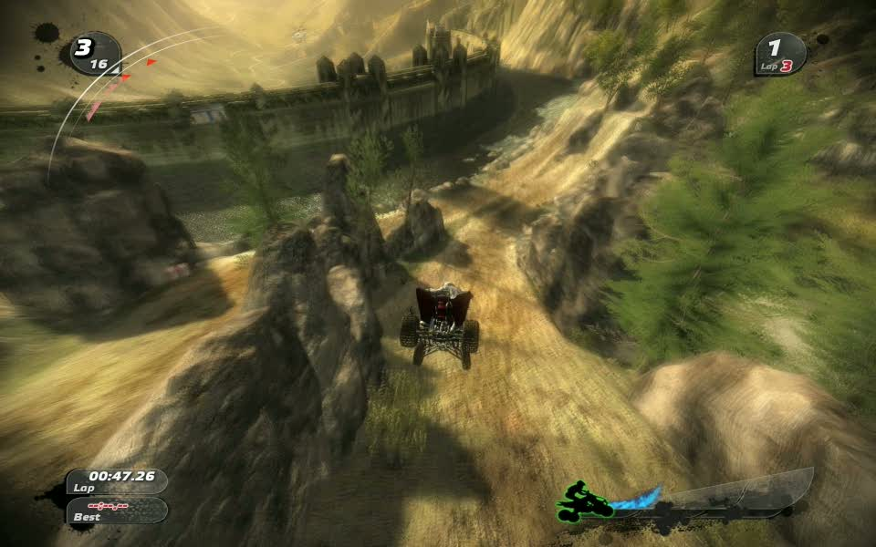 Pure off-road racing Game Disney Interactive Studios Black Rock Studio