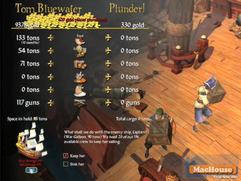 Sid Meier's Pirates! game play video