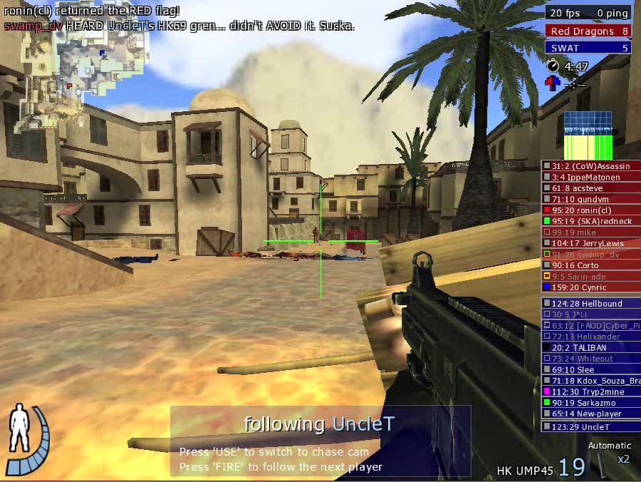 Urban Terror game play video