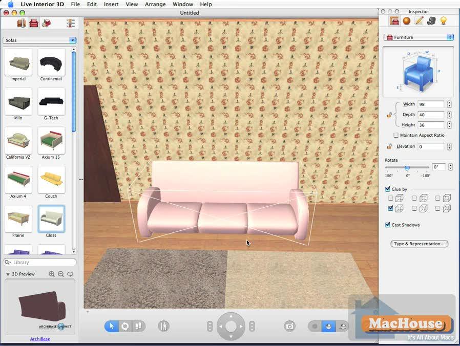 Live Interior 3D Mac