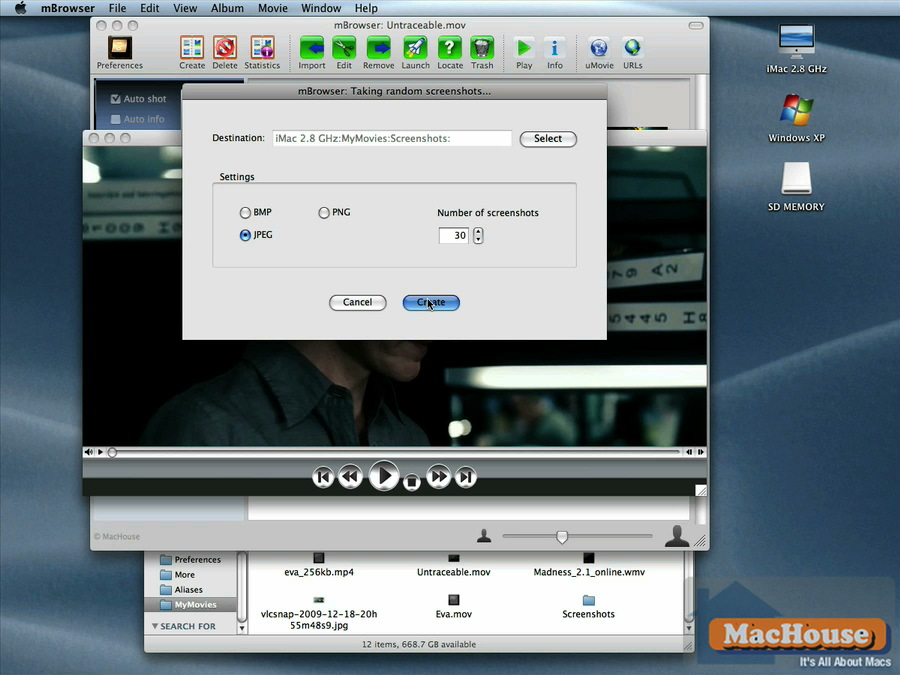 Mac software mBrowser