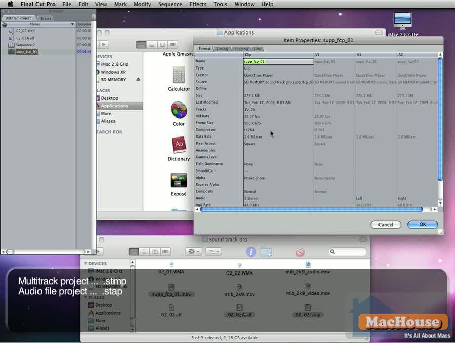 Soundtrack Pro video tutorial