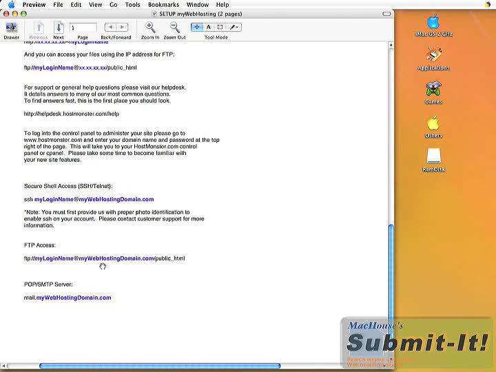 HostMonster web hosting video tutorials